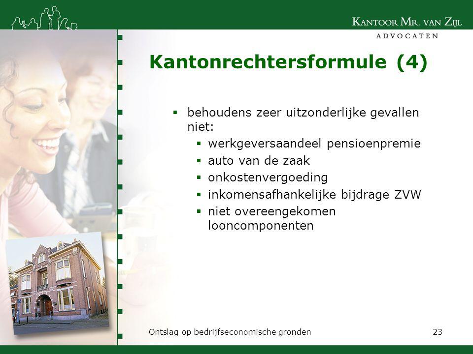 Kantonrechtersformule (4)