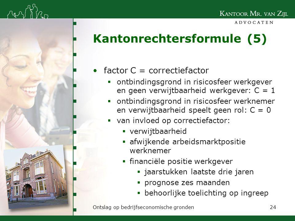Kantonrechtersformule (5)