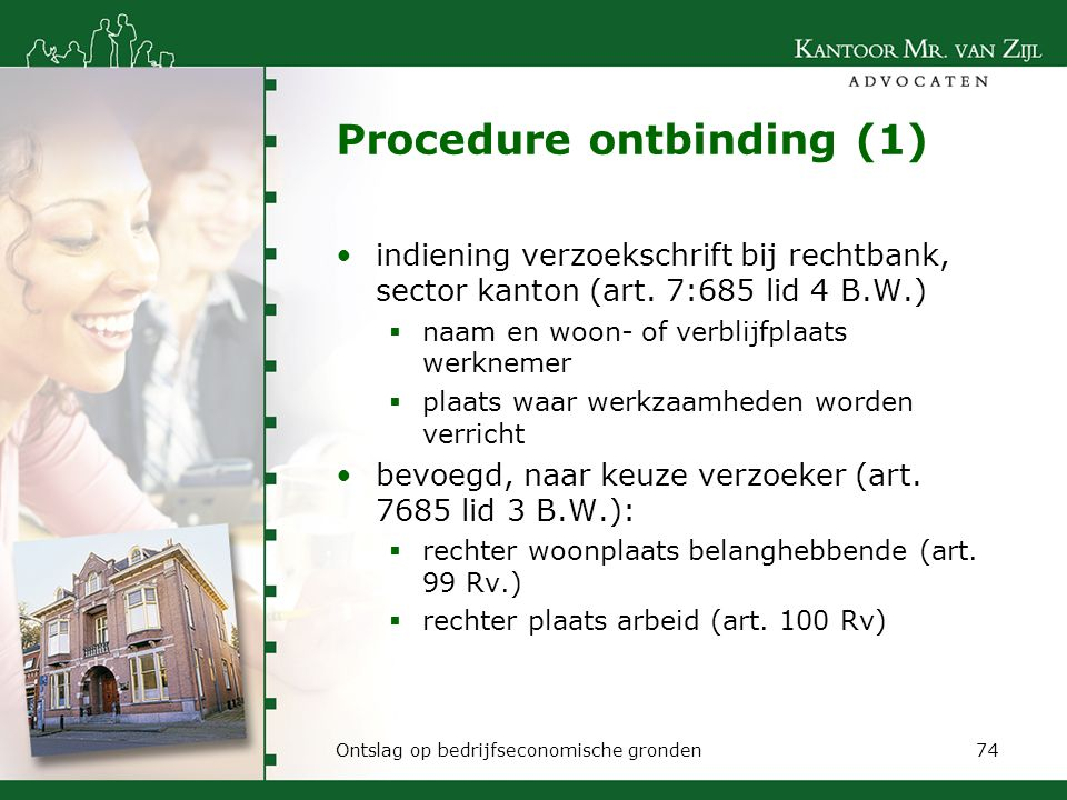 Procedure ontbinding (1)