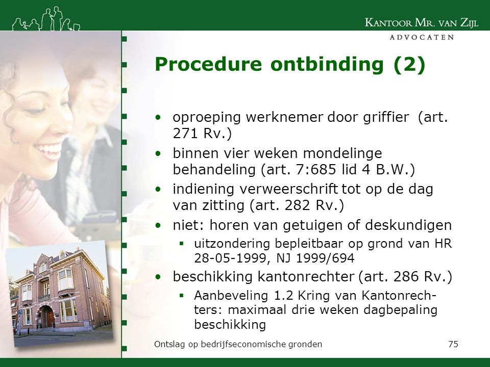 Procedure ontbinding (2)