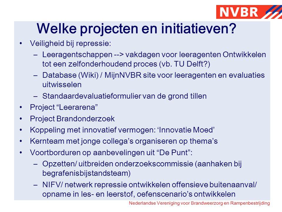 Welke projecten en initiatieven