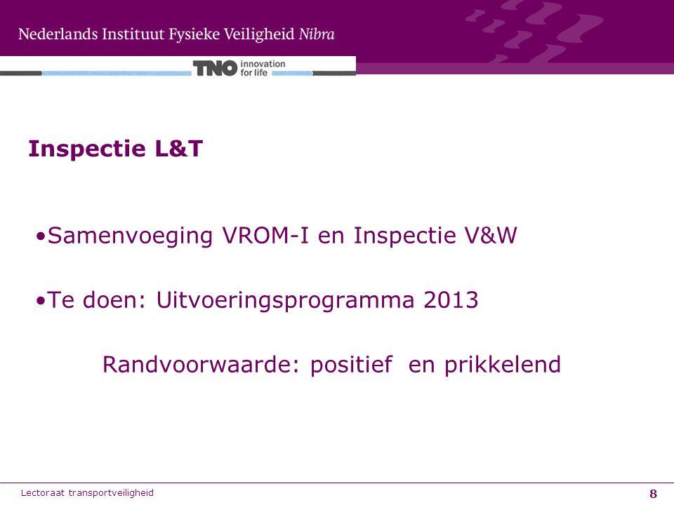 Samenvoeging VROM-I en Inspectie V&W