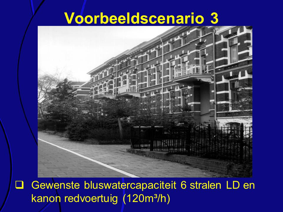 Voorbeeldscenario 3 Elk van de onderdelen van de richtlijn wordt kort toegelicht.