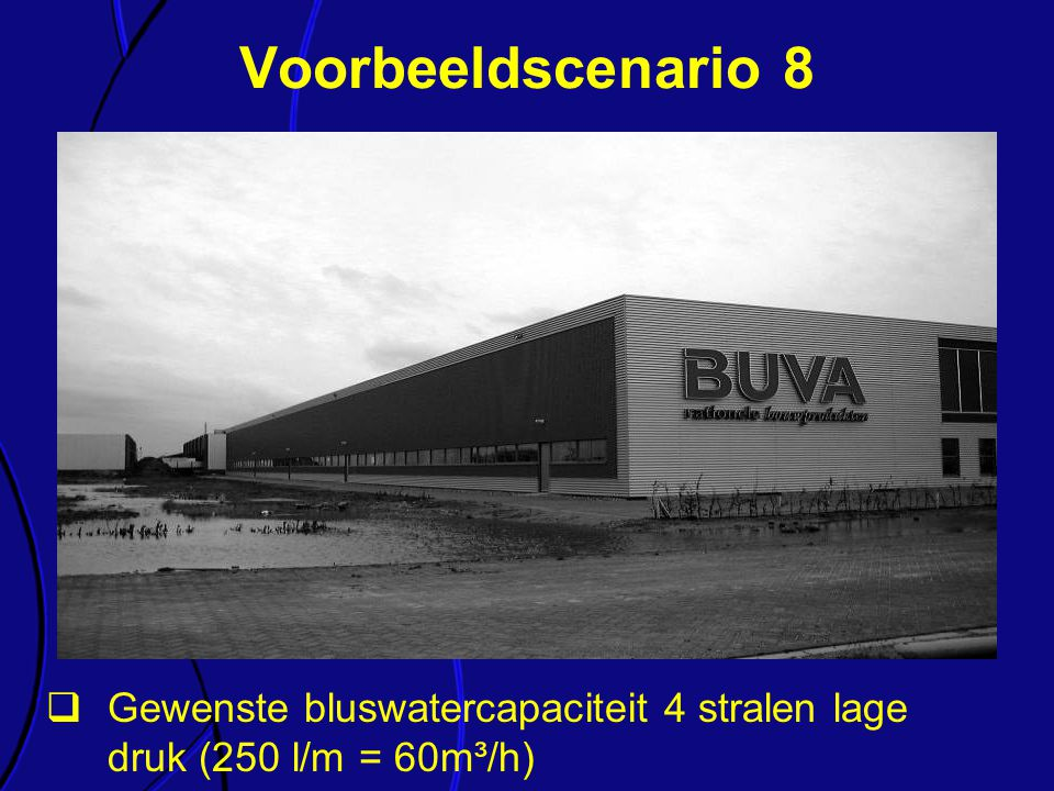 Voorbeeldscenario 8 Elk van de onderdelen van de richtlijn wordt kort toegelicht.