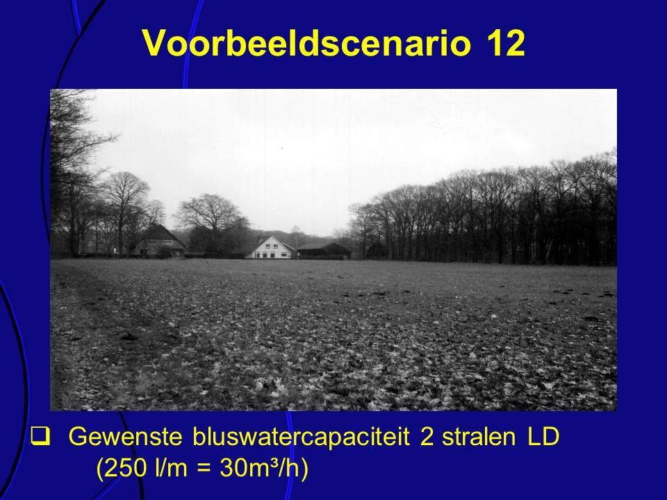 Voorbeeldscenario 12 Elk van de onderdelen van de richtlijn wordt kort toegelicht.