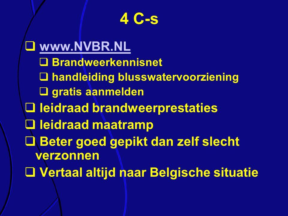 4 C-s www.NVBR.NL leidraad brandweerprestaties leidraad maatramp