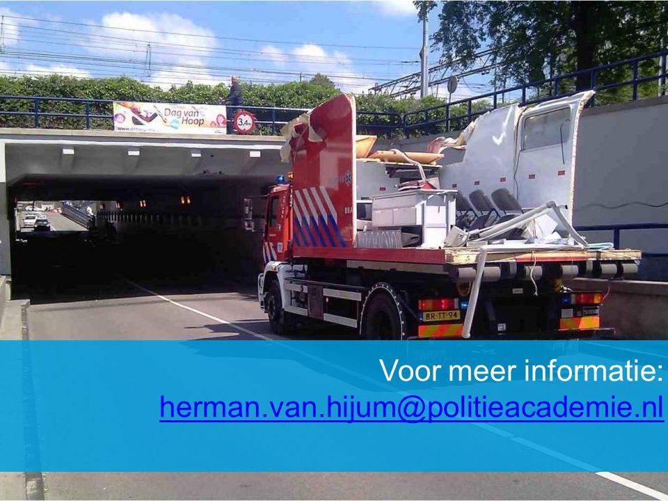 Voor meer informatie: herman.van.hijum@politieacademie.nl