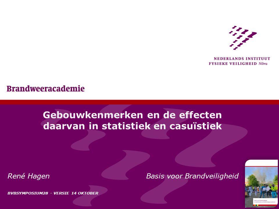Gebouwkenmerken en de effecten daarvan in statistiek en casuïstiek