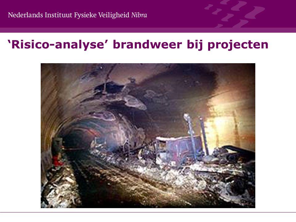 'Risico-analyse' brandweer bij projecten