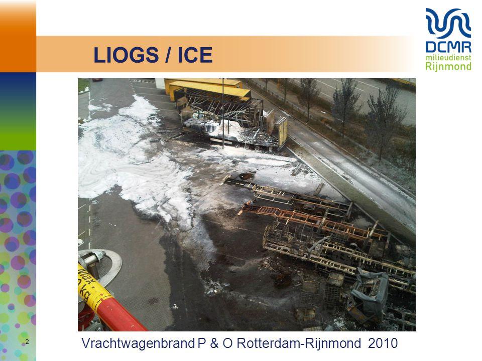 LIOGS / ICE Vrachtwagenbrand P & O Rotterdam-Rijnmond 2010