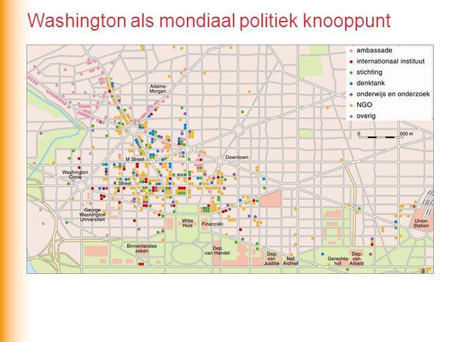 Washington als mondiaal politiek knooppunt