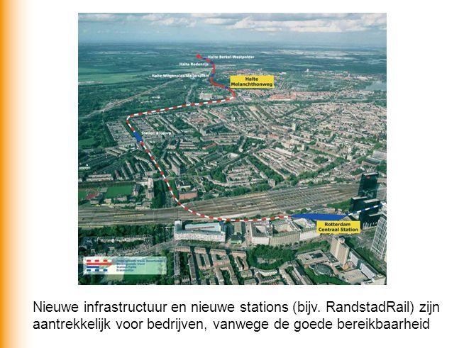 Nieuwe infrastructuur en nieuwe stations (bijv