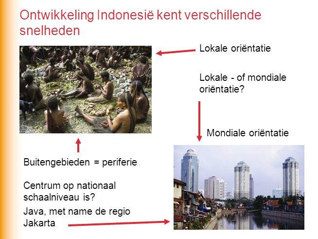 Ontwikkeling Indonesië kent verschillende snelheden