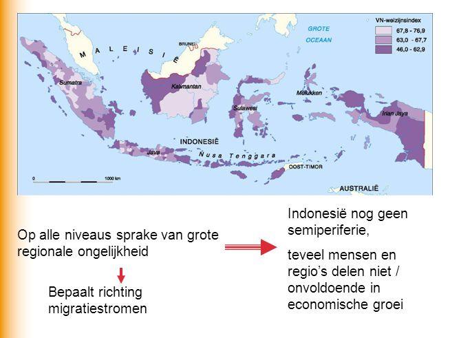 Indonesië nog geen semiperiferie,