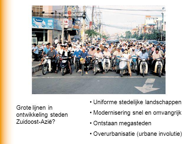 Uniforme stedelijke landschappen