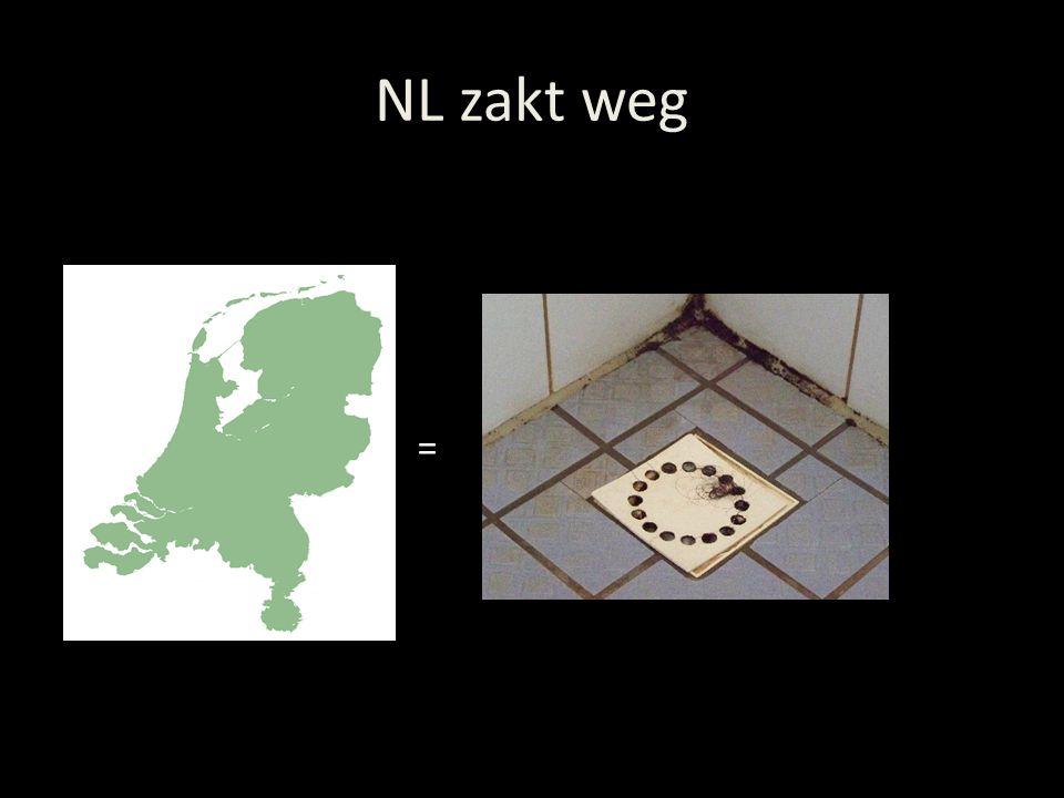 NL zakt weg =