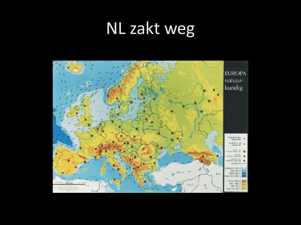 NL zakt weg