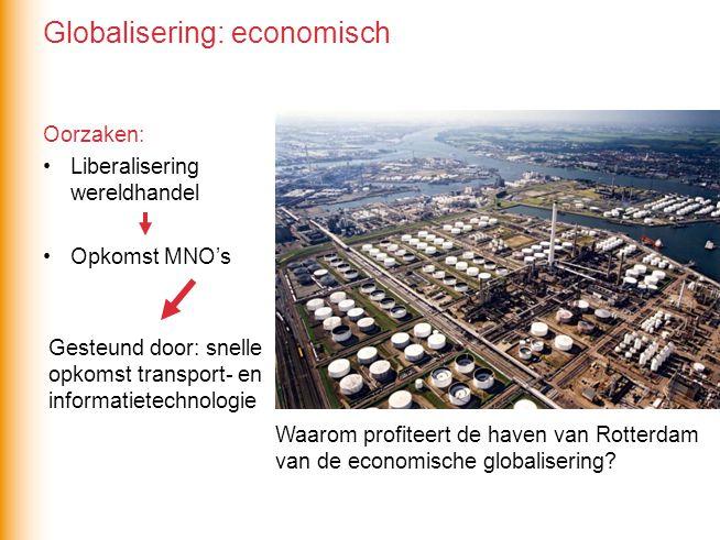 Globalisering: economisch