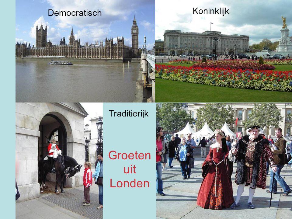Koninklijk Democratisch Traditierijk Groeten uit Londen