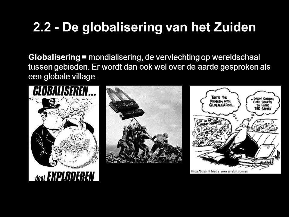 2.2 - De globalisering van het Zuiden