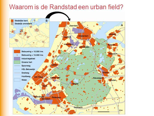 Waarom is de Randstad een urban field