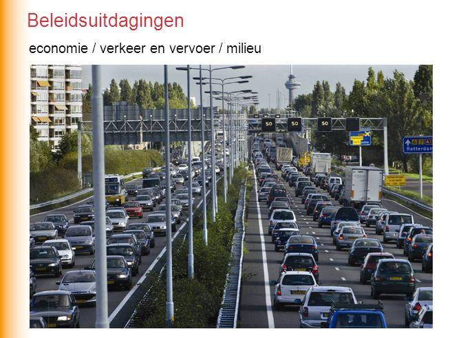 Beleidsuitdagingen economie / verkeer en vervoer / milieu