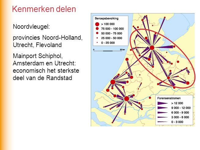 Kenmerken delen Noordvleugel: