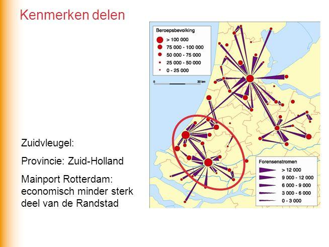 Kenmerken delen Zuidvleugel: Provincie: Zuid-Holland