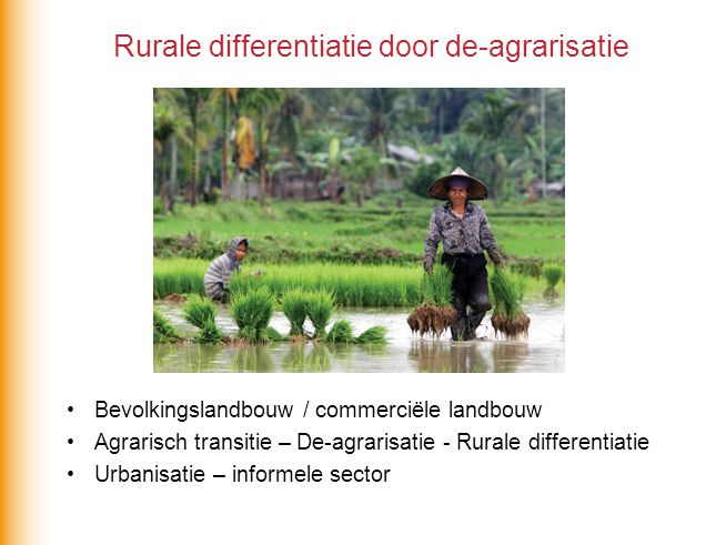 Rurale differentiatie door de-agrarisatie