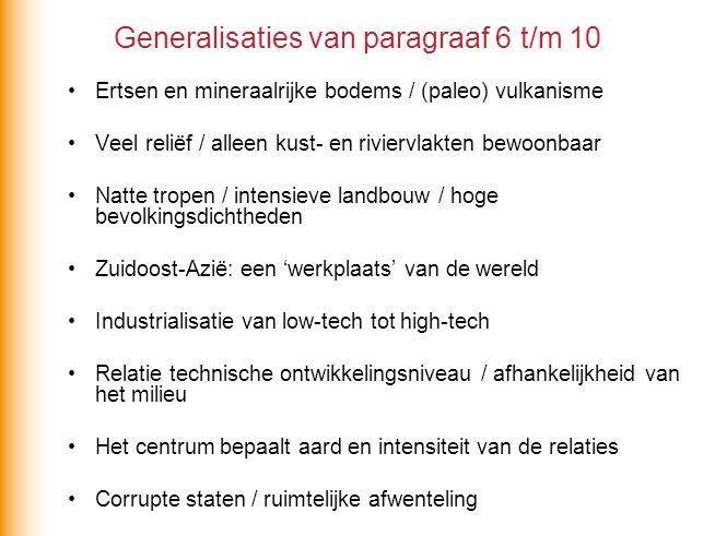 Generalisaties van paragraaf 6 t/m 10