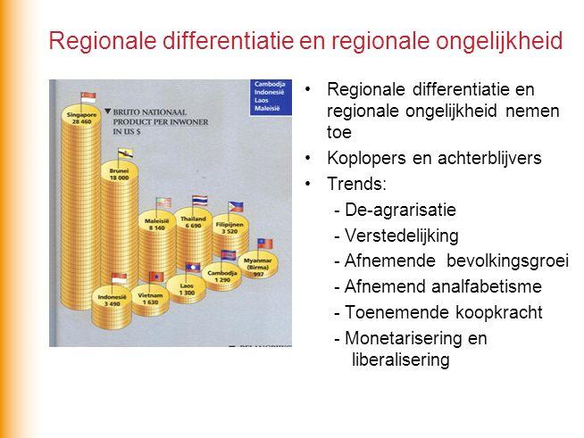 Regionale differentiatie en regionale ongelijkheid