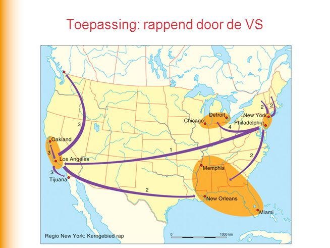 Toepassing: rappend door de VS