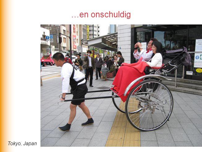 …en onschuldig Tokyo, Japan