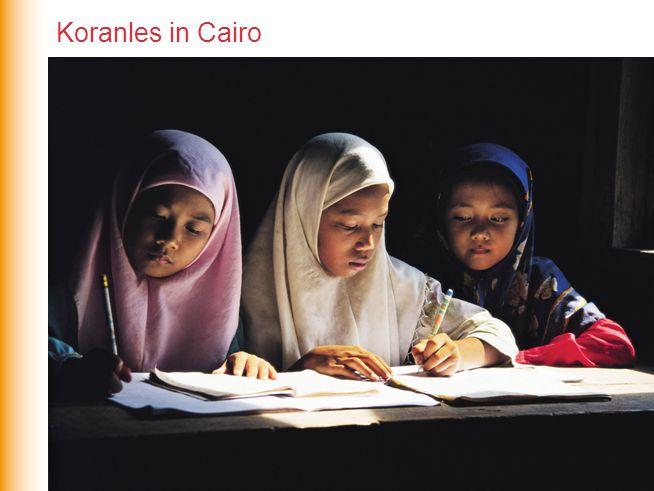 Koranles in Cairo