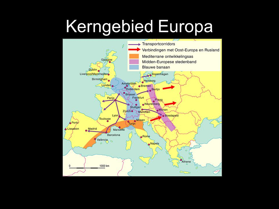 Kerngebied Europa