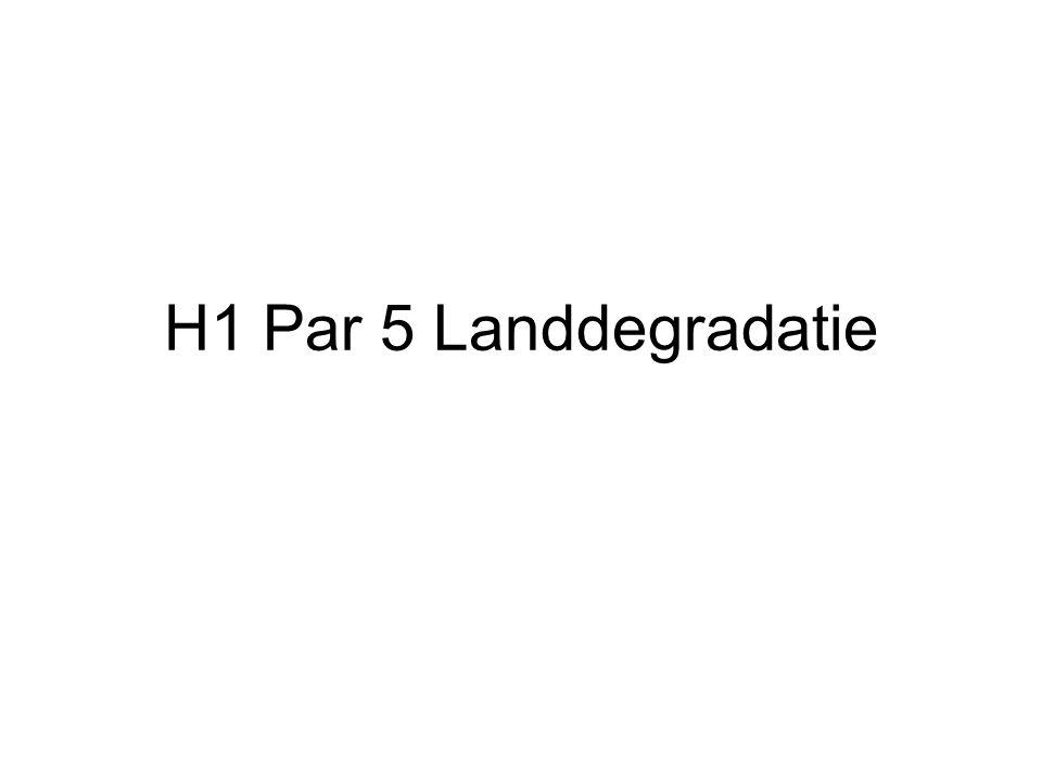 H1 Par 5 Landdegradatie