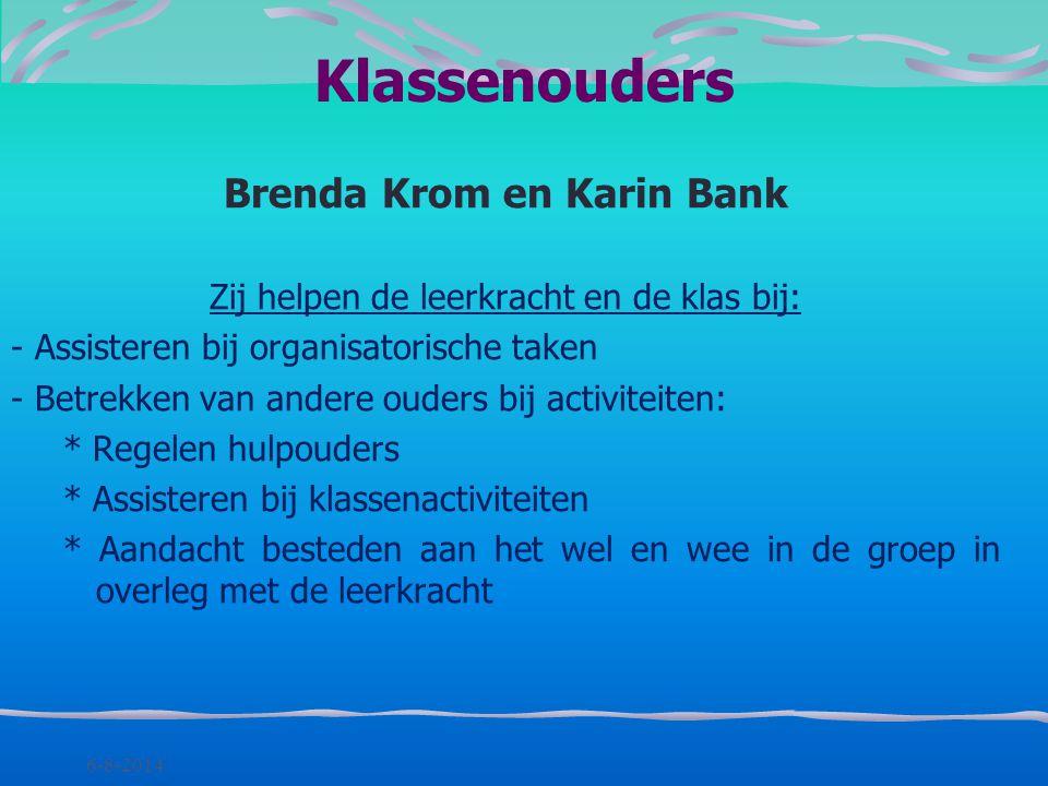 Brenda Krom en Karin Bank