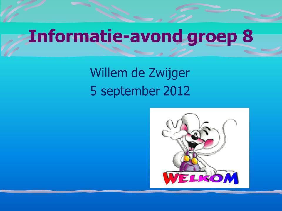 Informatie-avond groep 8