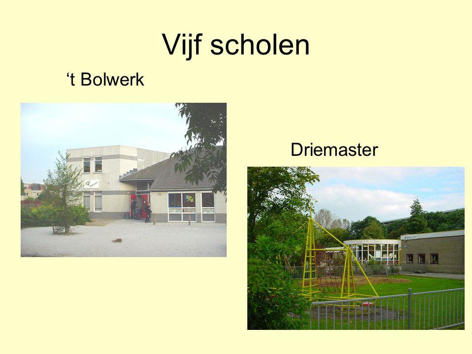 Vijf scholen 't Bolwerk Driemaster
