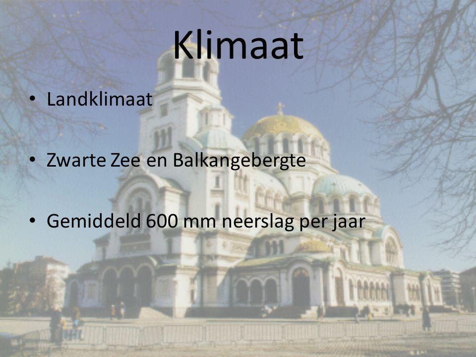 Klimaat Landklimaat Zwarte Zee en Balkangebergte