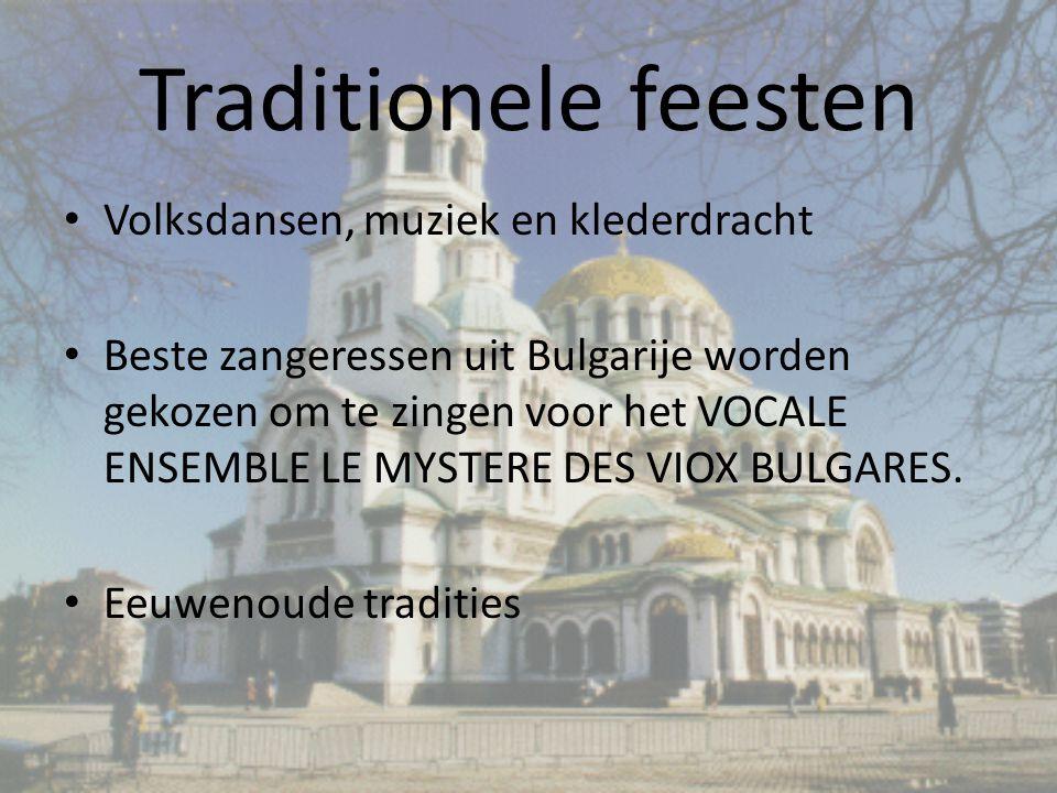 Traditionele feesten Volksdansen, muziek en klederdracht