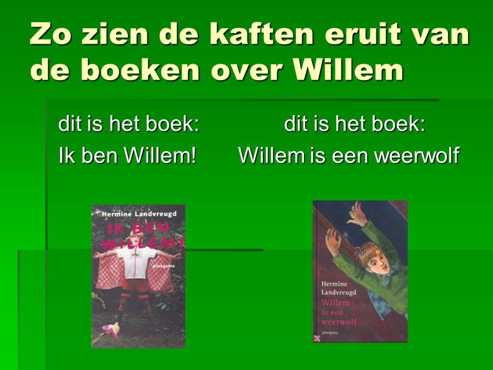 Zo zien de kaften eruit van de boeken over Willem
