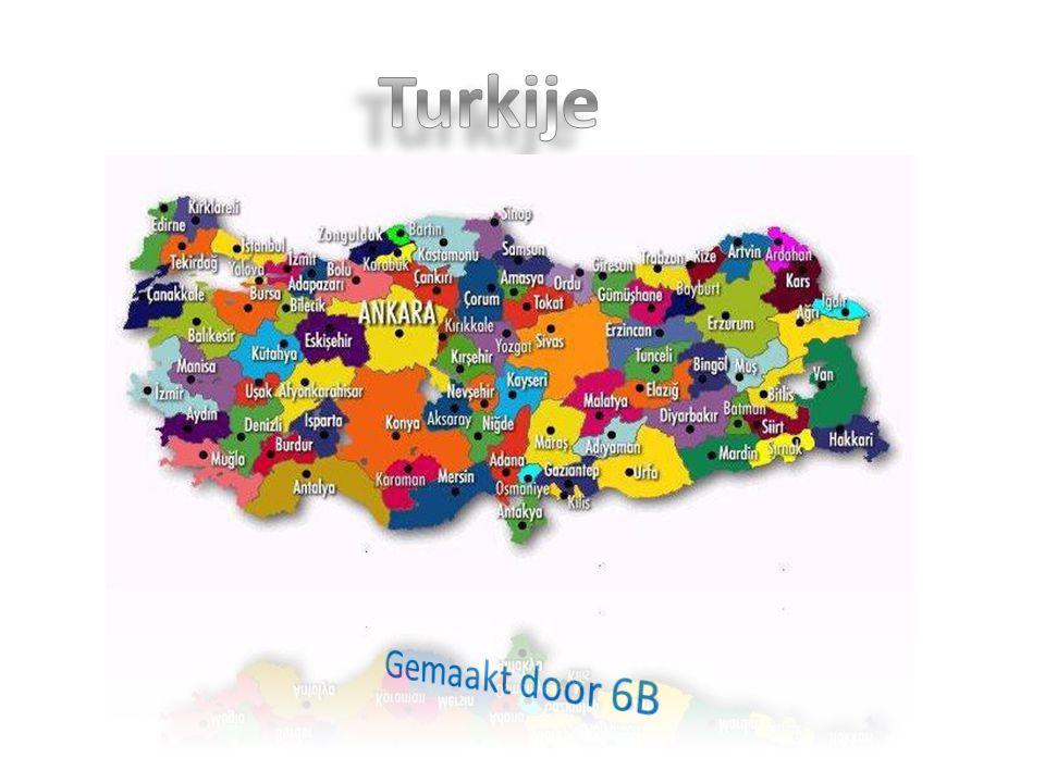 Turkije PowerPoint Turkije van groep 6b `t Bolwerk Gemaakt door 6B