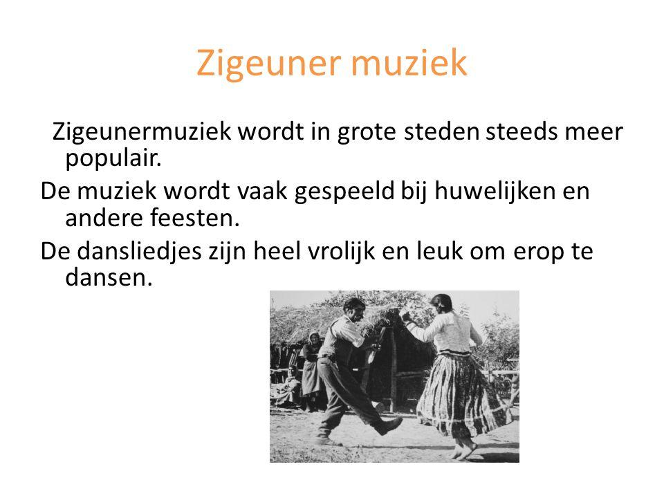 Zigeuner muziek