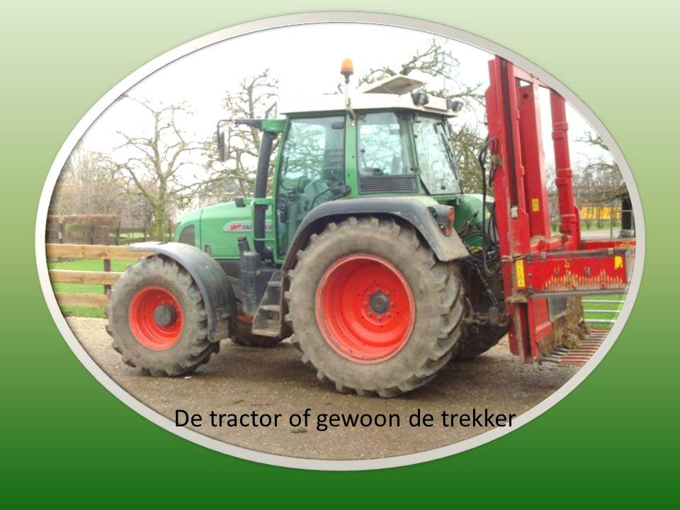De tractor of gewoon de trekker