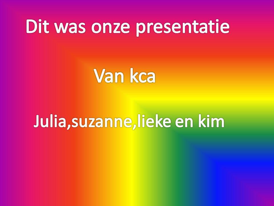 Dit was onze presentatie Van kca