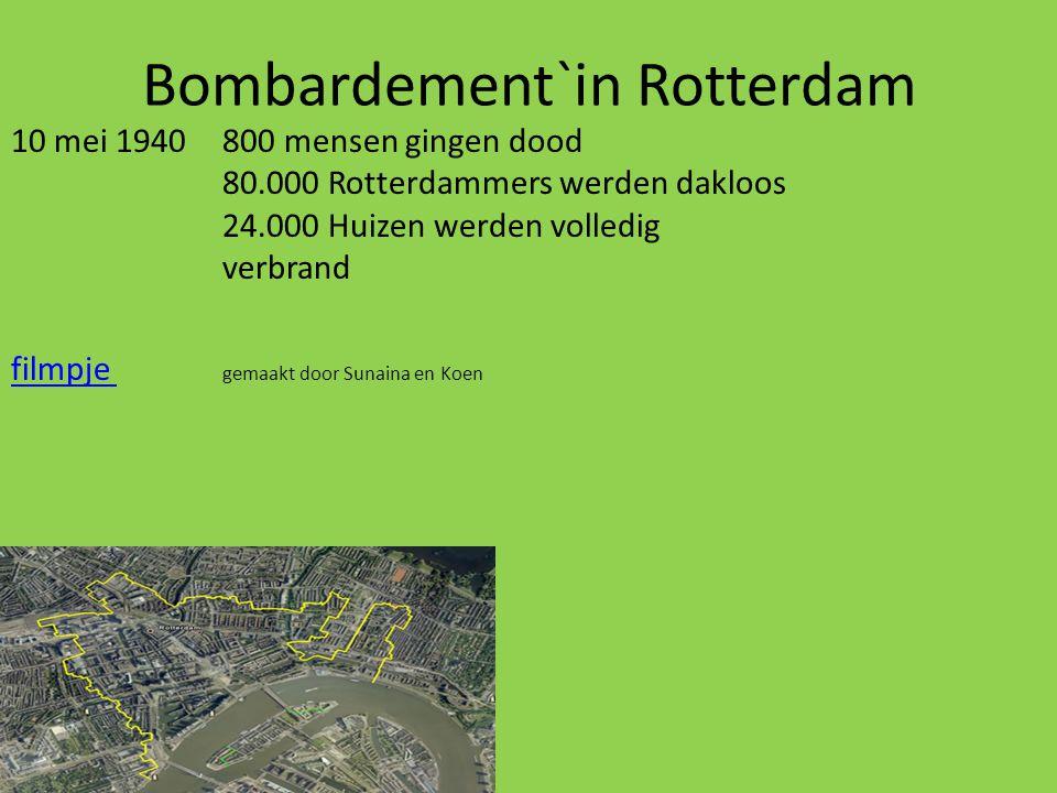 Bombardement`in Rotterdam