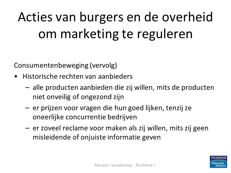 Acties van burgers en de overheid om marketing te reguleren