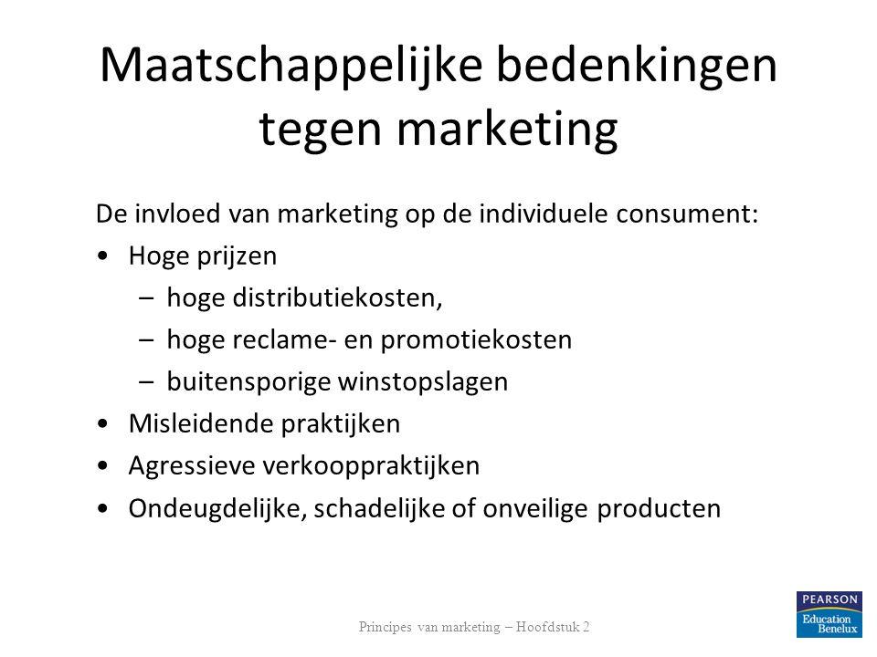 Maatschappelijke bedenkingen tegen marketing