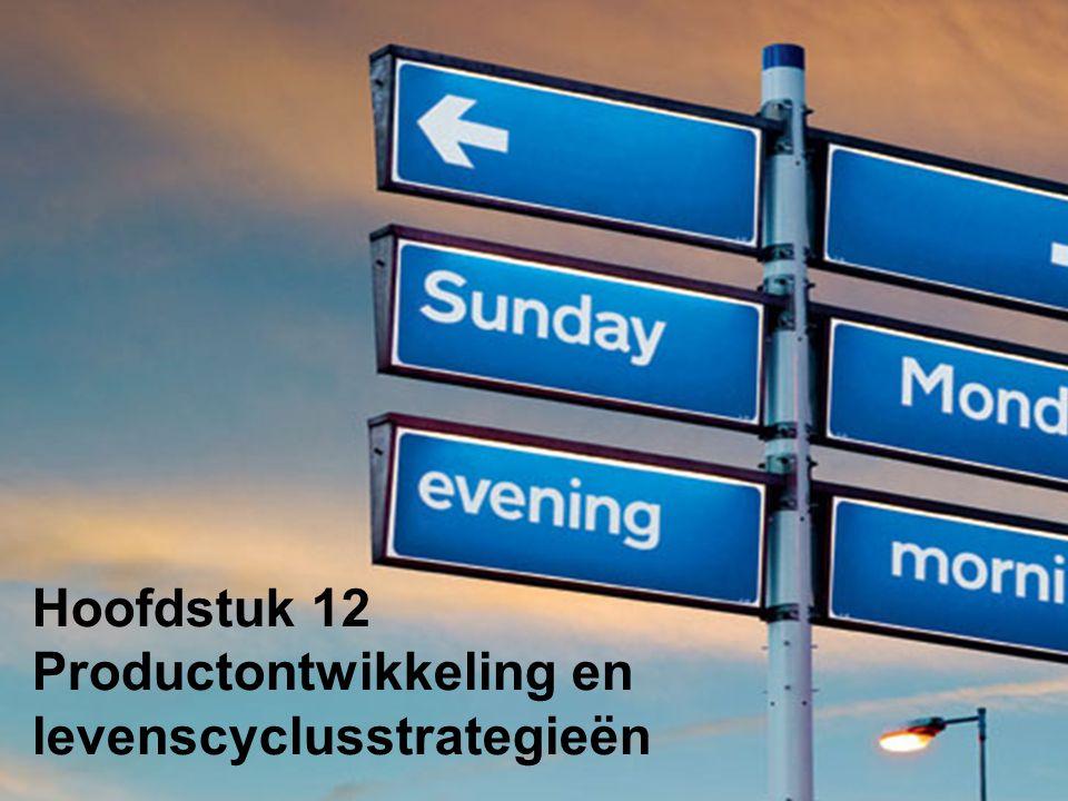 Hoofdstuk 12 Productontwikkeling en levenscyclusstrategieën